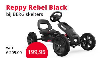BERG skelter Reppy Rebel Black
