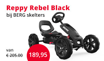 BERG skelter Reppy Rebel Black